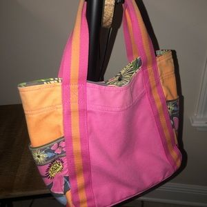 Authentic Vera Bradley Jazzy Blooms Small Tote